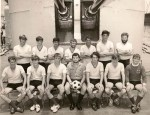 Soccer XI  HMNZS Otago Singapore 1974